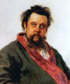 Описание картины И. Е. Репина «Портрет Мусоргского»