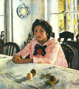 Описание картины В. А. Серова «Девочка с персиками»