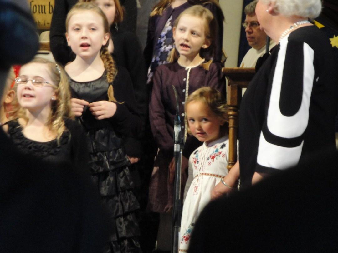 Zoé sang i barnekoret Mini Mini Singspiration når hun var liten.