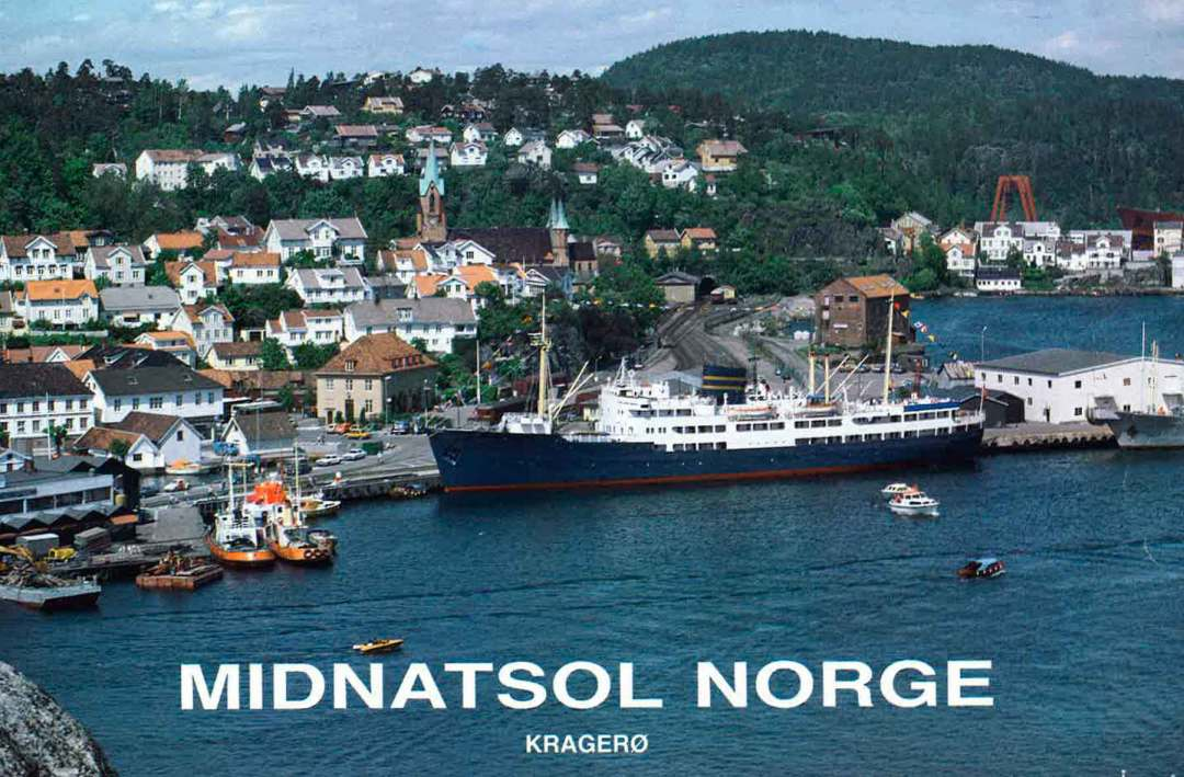 Midnatsol Norge i Kragerø