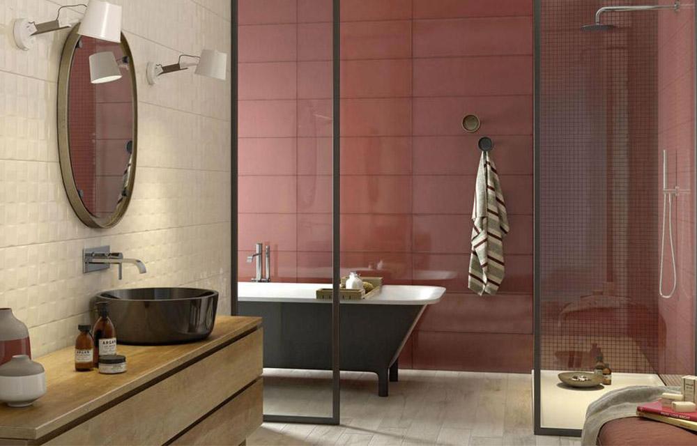 Larredamento del bagno inizia dalle piastrelle dettagli home decor