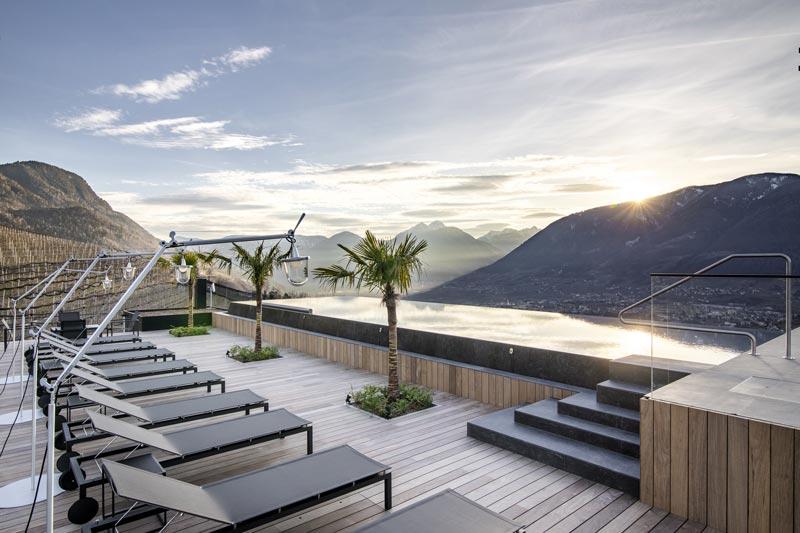 piscina sul tetto Apartment  7