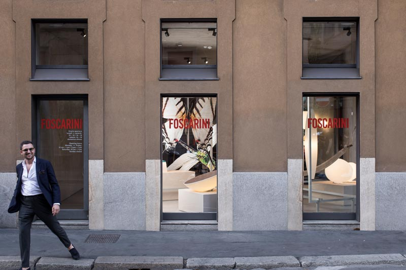 showroom Foscarini Milano