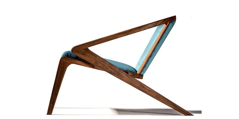 sedia in legno di design