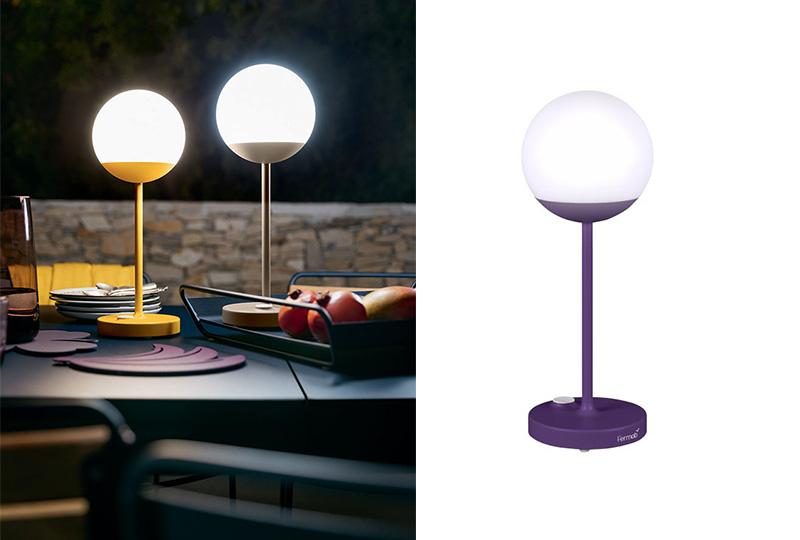 lampade senza fili da tavolo colorate