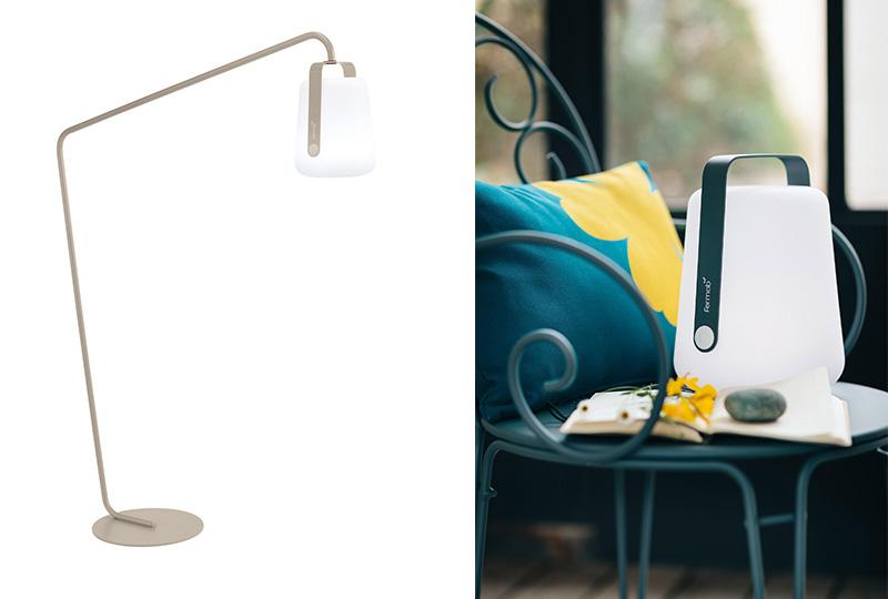 lampade senza fili da terra e da tavolo per il giardino
