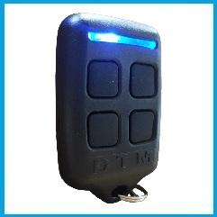 Mando programable DTM-HUGO 250/450MHz Fix/Roll