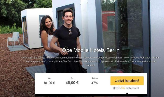 Würfelhotel Berlin