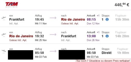 FRA-RIO-FRA FD