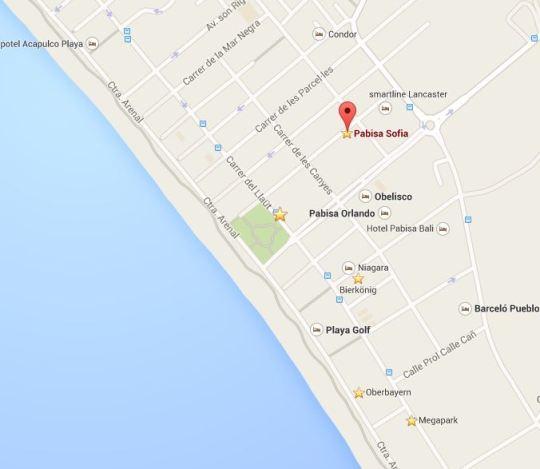 Pabisa Bali Standort