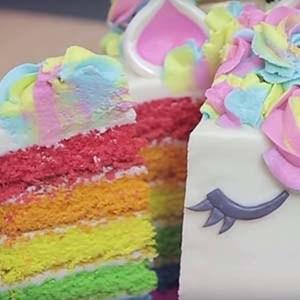 Te enseñamos la receta de cómo hacer un pastel de unicornio.¡Se chuparán los dedos!