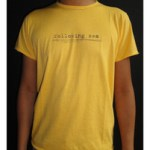 T-shirt Following Sea