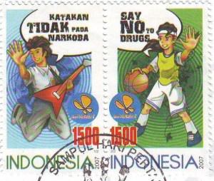 Prävention mit Hilfe von Briefmarken