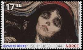 Edvard-munch-briefmarke-madonna