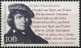 Hoffmann-von-fallersleben-Briefmarke1991
