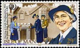 Olave-Baden-Powell-Briefmarke-1985