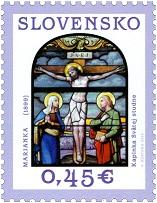 Die Slowakei brachte am 10. März eine Briefmarke heraus, welche die Kreuzigung Christi darstellt.