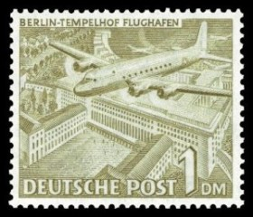 Berlin-Tempelhof-Briefmarke