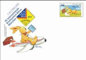 Fliegt Hase Felix nach München oder erhalten nur Abonnenten die Ganzsache aus Weiden?