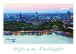 Die Bildseite der Postkarte der Citipost Hannover.