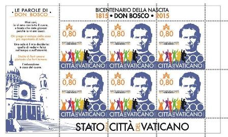 Don Bosco Briefmarke 2015