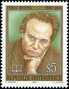 Franz-Werfel-Briefmarke-1990