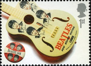 Beatlemania-Briefmarke