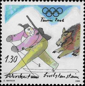 Liechtenstein Briefmarke 2006