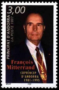francois-mitterrand-briefmarke-andorra