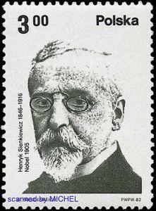 henryk-sienkiewicz-auf-briefmarke-polen-2