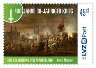 30 Jahre Krieg LVZ Post Briefmarke Neuheit 4