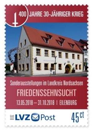 30 Jahre Krieg LVZ Post Briefmarke Neuheit 5