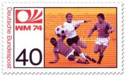 Fussball Legenden WM 1974 Hoeness Briefmarke