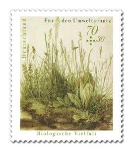 Briefmarke Biologische Vielfalt 2018