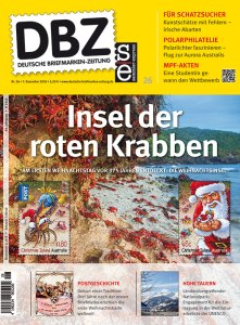 Deutsche Briefmarken Zeitung Krabben Weihnachten Insel (1)