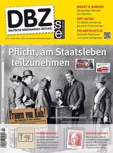 Deutsche Briefmarken Zeitung Cavallini Januar 2019 Lasker Schach