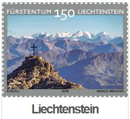 Sepac Wahl Briefmarke 2018 Comepetition Liechtenstein