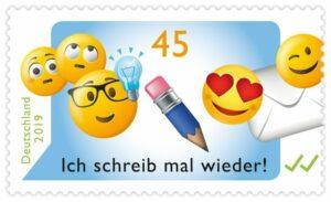 Briefmarke Deutschland Emojis