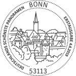Stempel Bonn Rothenburg ob der Tauber