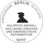 Stempel Berlin Huldrych Zwingli
