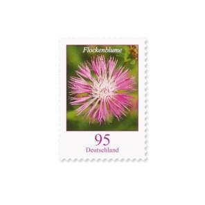 Briefmarke Deutschland Flockenblume