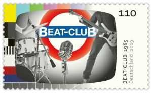Briefmarke Deutchland Beat-Club