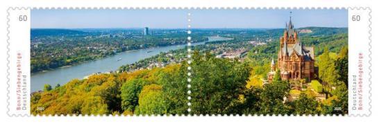 Briefmarken Deutschland Bonn Siebengebirge