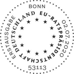 Stempel Bonn EU-Ratspräsidentschaft