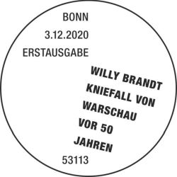 Stempel Bonn Willy Brandt