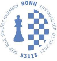 Stempel Bonn Deep Blue-Kasparow