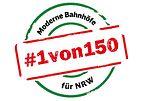 1von150 – Moderne Bahnhöfe für NRW