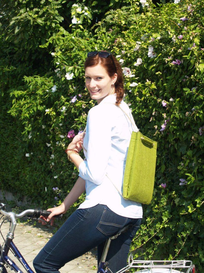 Study Bag Apple vegan