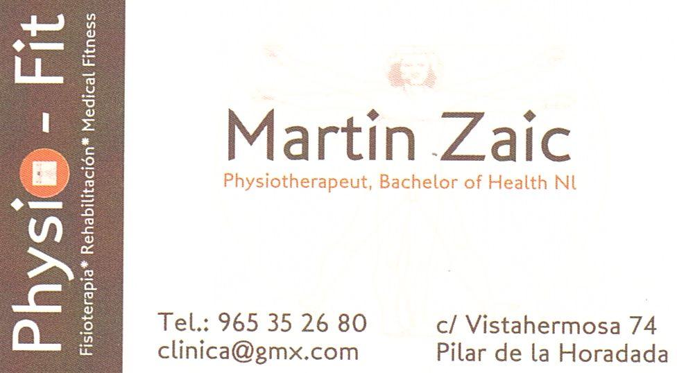 Martin Zaic - PhysioFit