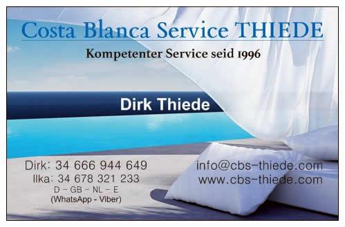 Costa Blanca Service Thiede